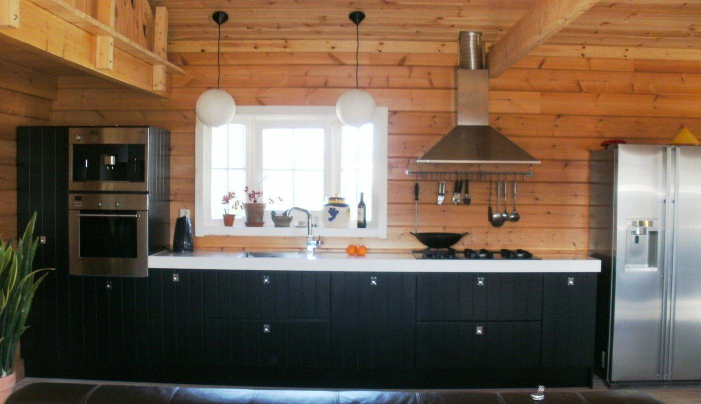Interieurbouw op maat - Moderne chalet keuken ...