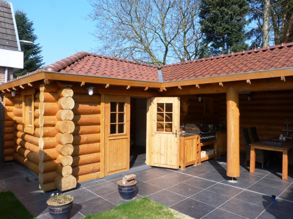Tuinhuis Sauna Loghuis Nl